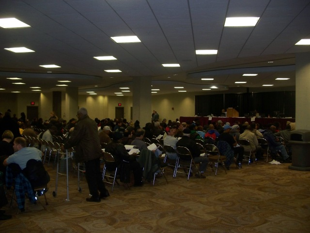 A shot of the auction I took 10/29/2012